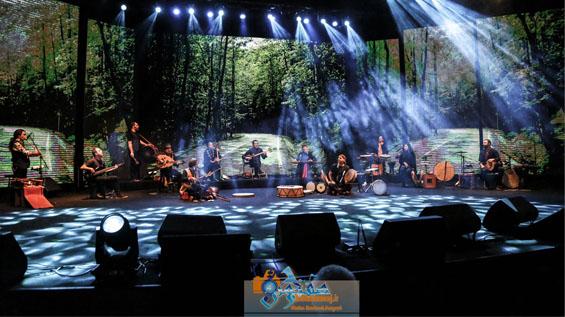 کنسرت گروه رستاک ۱۷ دی در برج میلاد برگزار شد