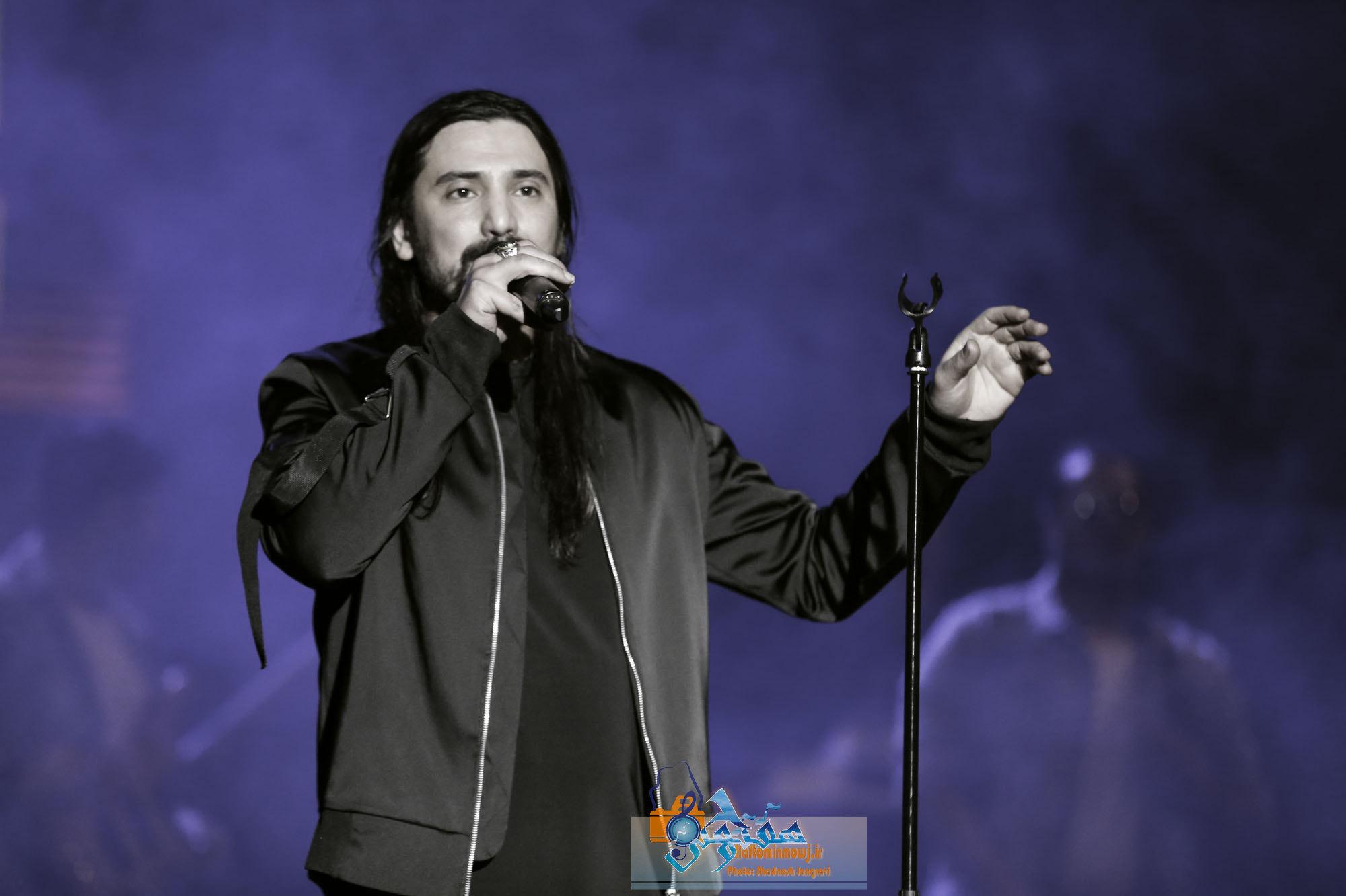 کنسرت امیر عباس گلاب ۶ بهمن برگزار شد