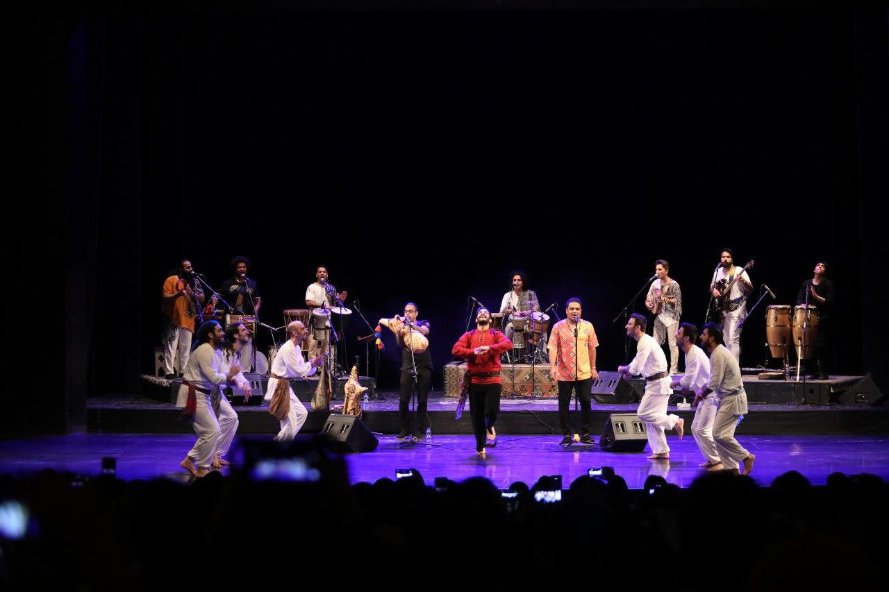 کنسرت گروه «لیان» در تالار وحدت برگزار شد