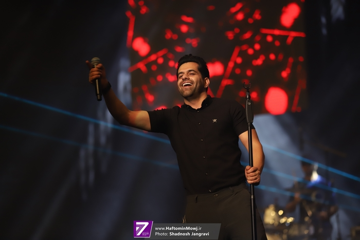 کنسرت رضا بهرام در هتل اسپیناس پالاس برگزار شد